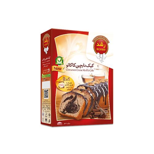 کیک دارچین کاکائو
