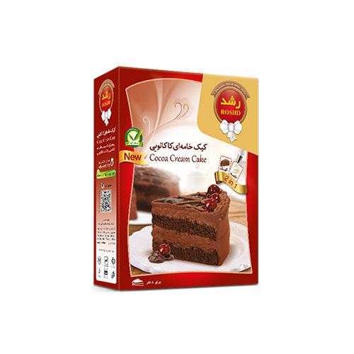 پودر کیک خامه ای کاکائویی