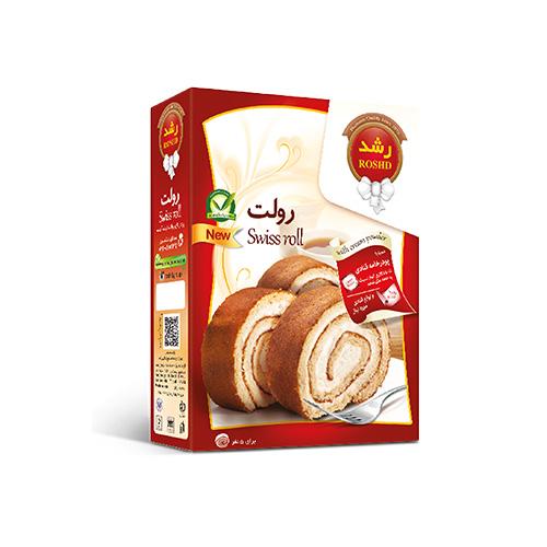 پودر شیرینی رولت